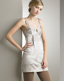 Rebecca Taylor Cami Minidress -  Dresses -  Bergdorf Goodman :  mini dress rebecca taylor black shift dress minidress