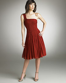 Elie Tahari Trudie Dress -  Contemporary -  Bergdorf Goodman :  contemporary dress shirred trudie