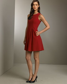 Theory Pleated Dress- Apparel- Bergdorf Goodman
