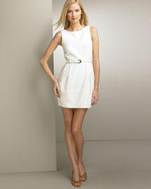 Theory Belted Dress- Dresses- Bergdorf Goodman from bergdorfgoodman.com