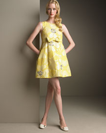 MARC by Marc Jacobs Jeweled Clover Dress -  Bright -  Bergdorf Goodman :  clover dress mini dress swing jacobs