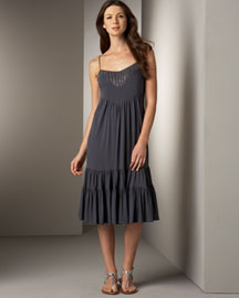 Rebecca Taylor Tiered Jersey Dress -  Dresses -  Bergdorf Goodman