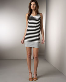 Y-Yigal Striped Dress -  Dresses -  Bergdorf Goodman