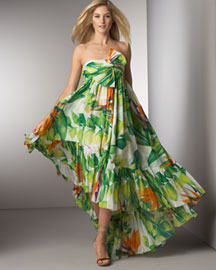 Diane Von Furstenberg Lipari Printed Gown -  Weekend -  Bergdorf Goodman :  design long dress gown fashion