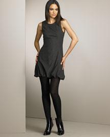 D&G Dolce & Gabbana Stretch Flannel Bubble Dress- Dresses- Bergdorf Goodman