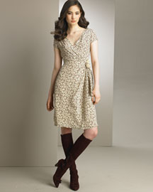 Nanette Lepore Floral-Print Dress- Dresses- Bergdorf Goodman