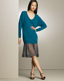 3.1 Phillip Lim Oversized Cashmere Sweater Dress -  Dresses -  Bergdorf Goodman from bergdorfgoodman.com