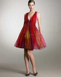 Alice + Olivia Ombre Dress -  Shop by Occasion -  Bergdorf Goodman from bergdorfgoodman.com