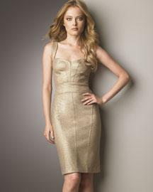 Diane Von Furstenberg Lurex Dress- Solids- Bergdorf Goodman