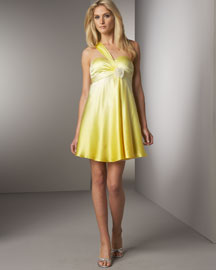 Marc Bouwer Glamit! Short Asymmetric Ombre Gown -  Party Girls -  Bergdorf Goodman :  chic glamit bouwer dress