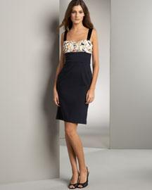 Diane von Furstenberg Chiffon Bust Dress- Dresses- Bergdorf Goodman :  chiffon bust dress polyamide bergdorf goodman elastane