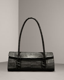 Nancy Gonzalez Small Crocodile Satchel -  Nancy Gonzalez -  Bergdorf Goodman :  crocodile satchel nancy gonzalez bag