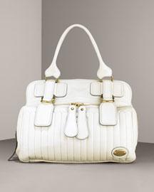 Chloe             Quilted Bay Shoulder Bag-     Handbags-  Bergdorf Goodman