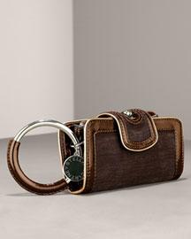 Stella McCartney Velvet Clutch- Handbags- Bergdorf Goodman