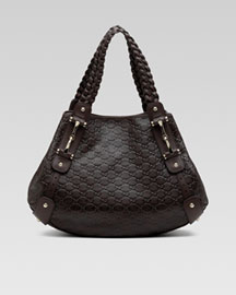 Pelham Guccisima Medium Shoulder -  Bergdorf Goodman :  guccisima bag brown gold