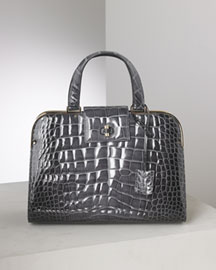 Yves Saint Laurent Crocodile Uptown Bag -  Exotics -  Bergdorf Goodman :  handbags saint laurent uptown bag crocodile uptown bag