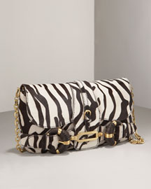 Jimmy Choo Zebra-Print Clutch -  Resort Handbags -  Bergdorf Goodman :  resort zebra clutch bags