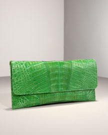 Carlos Falchi Matte Croc Clutch -  Clutches & Evening -  Bergdorf Goodman :  clutches clutch carlos falchi bag