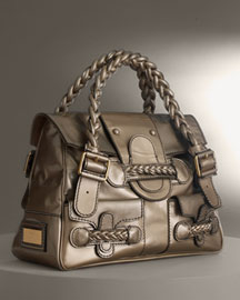 Valentino Patent Leather Histoire -  Handbags -  Bergdorf Goodman