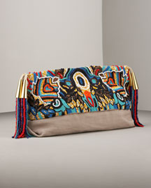 Stella Mccartney            Beaded Clutch -   		Handbags - 	Bergdorf Goodman