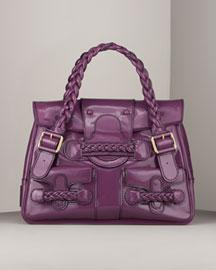Valentino Patent Histoire Bag- Handbags- Bergdorf Goodman