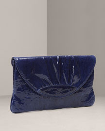 Lauren Merkin Ava Patent Lambskin Clutch -  Shoes & Handbags -  Bergdorf Goodman  :  clutches