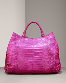 Nancy Gonzalez Large Croc Tote -  Nancy Gonzalez -  Bergdorf Goodman :  nancy gonzalez handbags