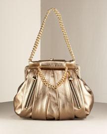 Christian Louboutin Large Double Pocket Pouchette- Shoulder Bags- Bergdorf Goodman