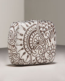 Leiber Henna Box -  Handbags  -  Bergdorf Goodman  :  clutches