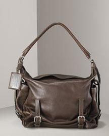 Dolce & Gabbana            Cinched Leather Hobo-  Handbags-Bergdorf Goodman from bergdorfgoodman.com