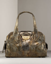 Botkier Glatiator Snake-Embossed Satchel -  Shoes & Handbags -  Bergdorf Goodman  :  bags botkier