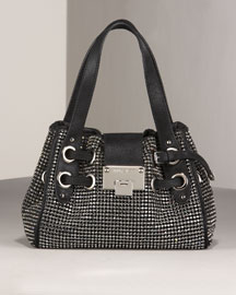 Jimmy Choo Mesh Roquette -  Handbags -  Bergdorf Goodman :  handbags holdall accessories womens apparel