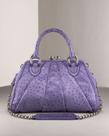Marc Jacobs Ostrich Stam Satchel -  Shoes & Handbags -  Bergdorf Goodman  :  bags marc jacobs