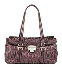 Prada Nappa Gaufre Shoulder Bag -  Shoes & Handbags  -  Bergdorf Goodman :  bags