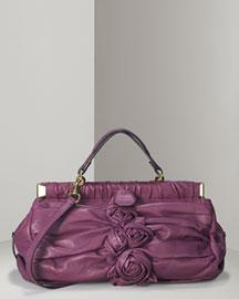 Valentino Jardin Rose Framed Duffel- Handbags- Bergdorf Goodman