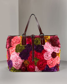 Valentino Flower Tote -  Shoes & Handbags -  Bergdorf Goodman  :  valentino bags