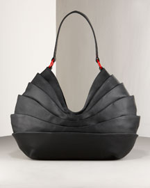 Christian Louboutin Pleated Shoulder Bag -  Shoes & Handbags  -  Bergdorf Goodman :  bags