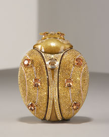 Judith Leiber Ladybug Minaudiere- Evening Bags- Bergdorf Goodman  :  leiber minaudiere