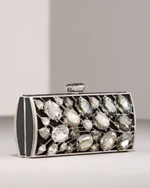 Leiber            45th Anniversary Jeweled Minaudiere -   		Handbags - 	Bergdorf Goodman :  leiber