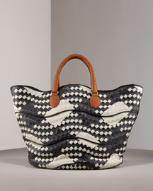 Bottega Veneta Woven Basket Tote -  Handbags -  Bergdorf Goodman