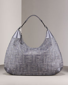 Fendi Forever Hobo -  Handbags -  Bergdorf Goodman :  fendi denim bag de jour womens bags bergdorf
