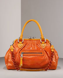 Marc Jacobs Classic Stam, Orange -  Handbags -  Bergdorf Goodman