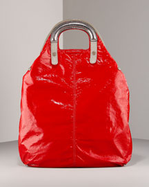 Stella McCartney Fold Over Tote -  Handbags -  Bergdorf Goodman from bergdorfgoodman.com