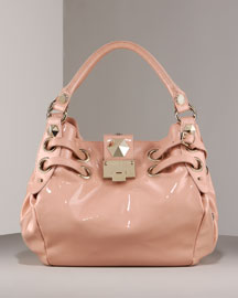 Jimmy Choo Riley Convertible Ring Tote -  Handbags -  Bergdorf Goodman