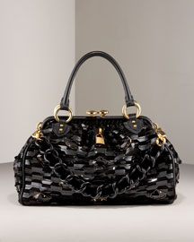 St. Marks Stam Satchel -                                 Bergdorf Goodman :  frame marc jacobs bag patent leather
