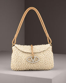 Valentino Faux Pearl Bag -  Clutches & Evening -  Bergdorf Goodman from bergdorfgoodman.com