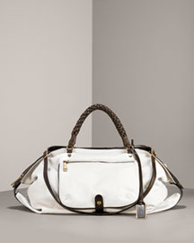 Bergdorf Goodman  - Leather Shoulder Bag, Medium from bergdorfgoodman.com