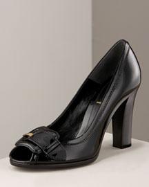 Fendi Patent Pump, Black- Shoes & Handbags- Bergdorf Goodman
