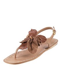Miu Miu Floral Flat Thong Sandal -  Shoes -  Bergdorf Goodman :  beach womens clothing women notify