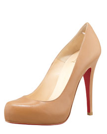Christian Louboutin            Platform Pump, Closed Toe :  heels shoe shoes christian louboutin